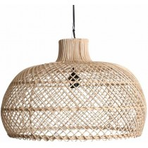 Hanglamp geweven maze naturel